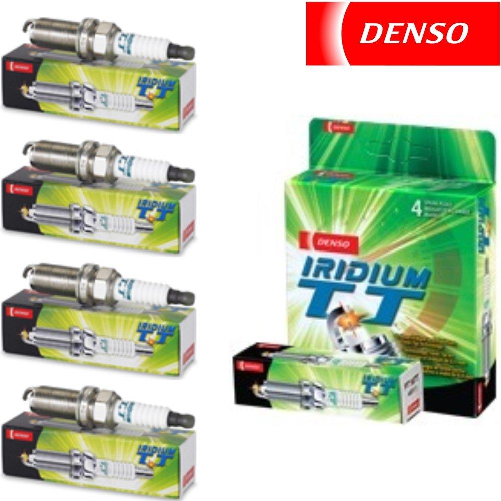 4x rover mini 1000 véritable denso twin tip tt spark plugs
